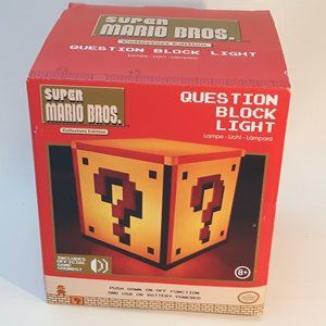 Super Mario Bros Question Block Light NIB